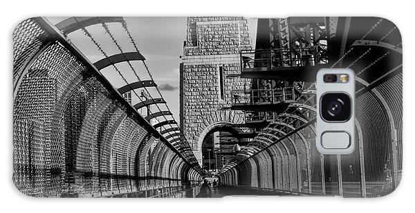 Sydney Harbor Bridge Bw Galaxy Case