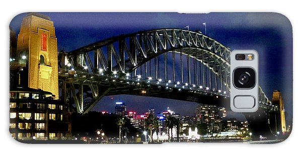 Sydney Harbour Bridge Galaxy Case