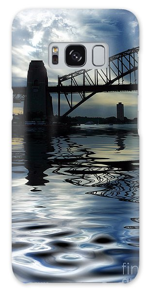 Architecture Galaxy Case - Sydney Harbour Bridge Reflection by Sheila Smart Fine Art Photography