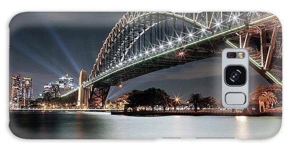 Sydney Harbour Lights Galaxy Case