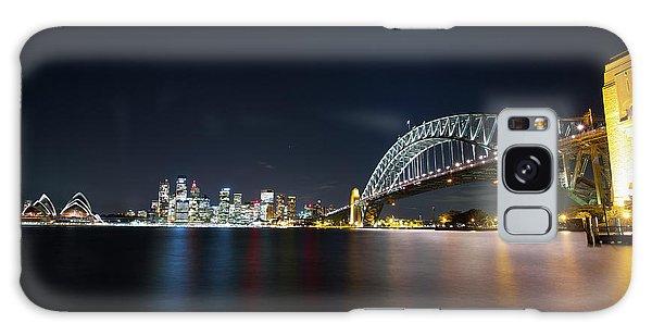 Sydney Harbour Silk Galaxy Case