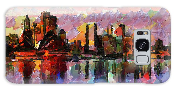 Sydney Here I Come Galaxy Case by Sir Josef - Social Critic -  Maha Art