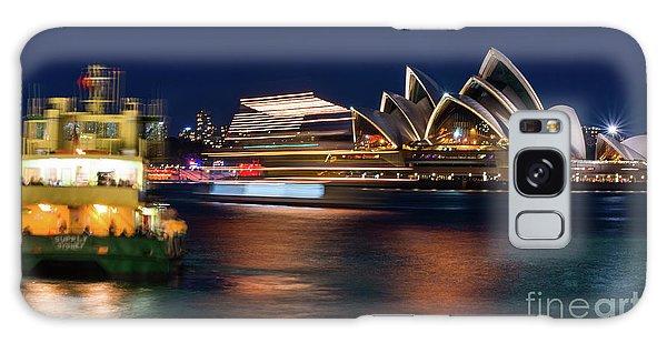 Sydney Night Life Galaxy Case