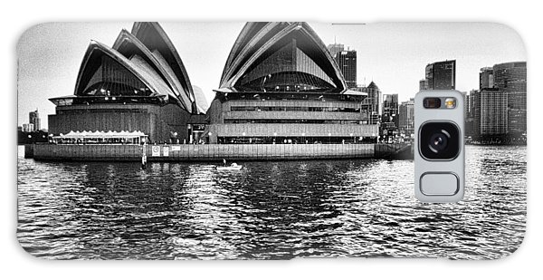 Sydney Opera House-black And White Galaxy Case