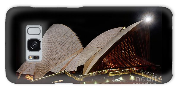 Galaxy Case featuring the photograph Sydney Opera House Close View 2 By Kaye Menner by Kaye Menner
