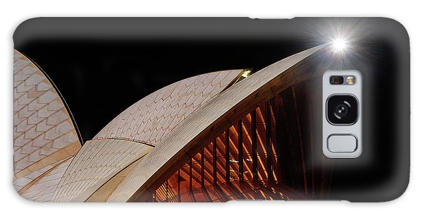 Galaxy Case featuring the photograph Sydney Opera House Close View By Kaye Menner by Kaye Menner