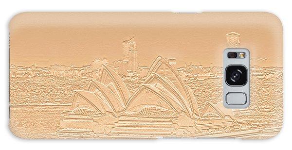 Sydney Opera House No. 17-2 Galaxy Case by Sandy Taylor