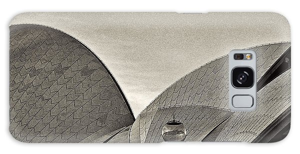 Sydney Opera House Roof Detail Galaxy Case