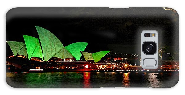 Sydney Opera House Vivid Festival Australia Galaxy Case