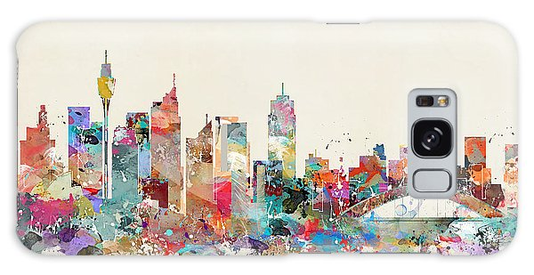 Sydney Skyline Galaxy Case - Sydney Skyline Australia by Bleu Bri