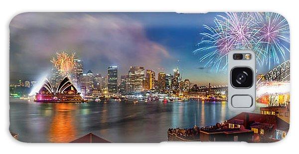 Sydney Skyline Galaxy Case - Sydney Sparkles by Az Jackson