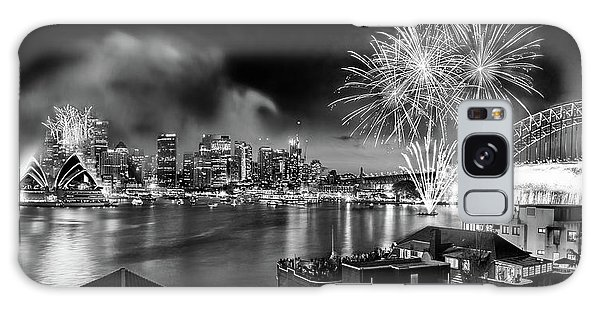 Sydney Skyline Galaxy Case - Sydney Spectacular by Az Jackson