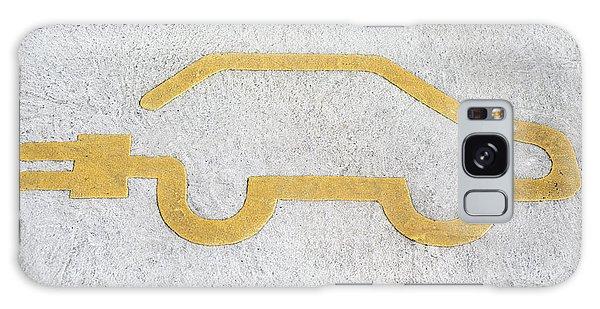 Symbol For Electric Car Galaxy Case