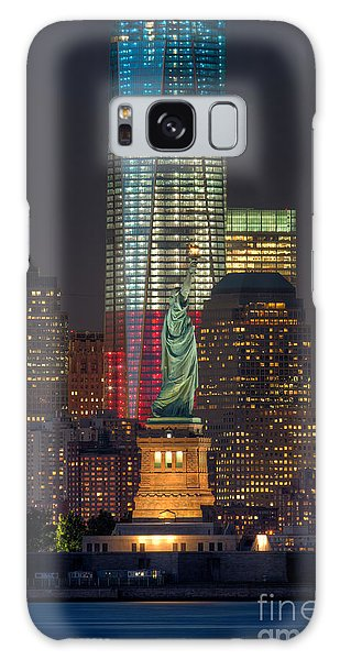Symbols Of Freedom II Galaxy Case by Clarence Holmes