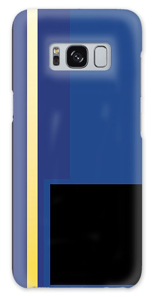Symphony In Blue - Movement 2 - 3 Galaxy Case