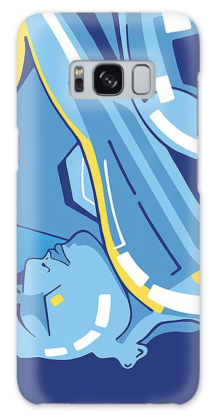 Symphony In Blue - Movement 4 - 2 Galaxy Case