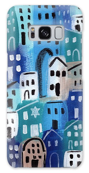 Temple Galaxy Case - Synagogue- City Stories by Linda Woods