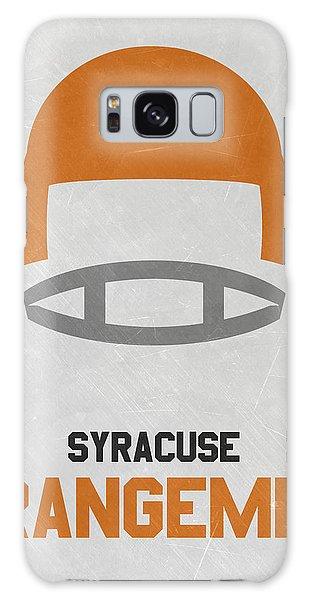 March Galaxy Case - Syracuse Orangemen Vintage Football Art by Joe Hamilton