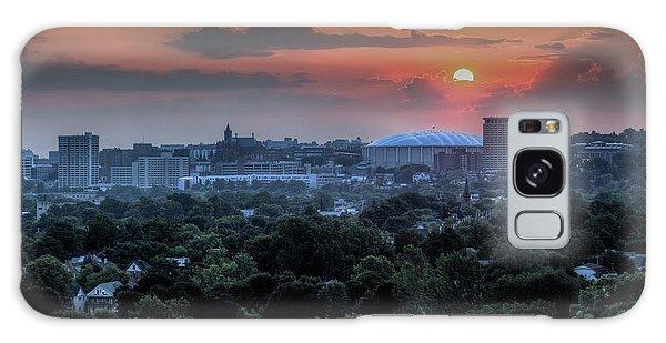 Syracuse Sunrise Galaxy Case by Everet Regal