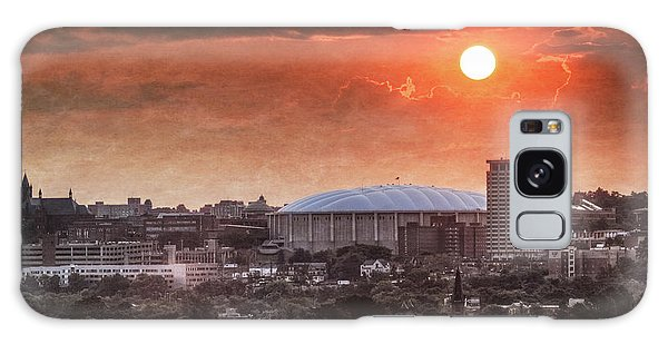 Syracuse Sunrise Over The Dome Galaxy Case by Everet Regal