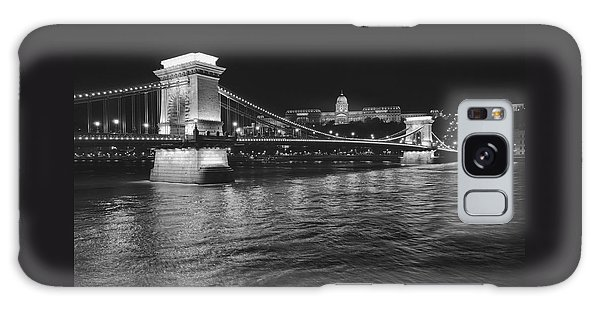 Szechenyi Chain Bridge Budapest Galaxy Case