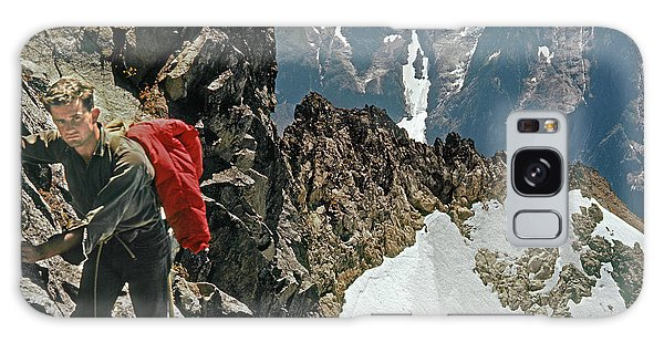 T-04403 Walt Buck Sellers On First Ascent Of Mt. Torment Galaxy Case