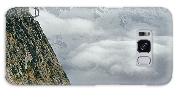 T-404101 Climbers On Sleese Mountain Galaxy Case