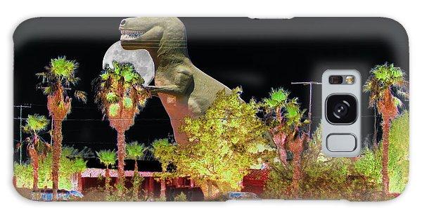 T-rex In The Desert Night Galaxy Case