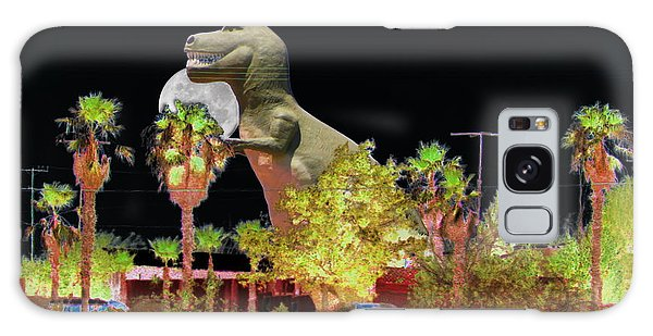 T-rex In The Desert Night Galaxy Case