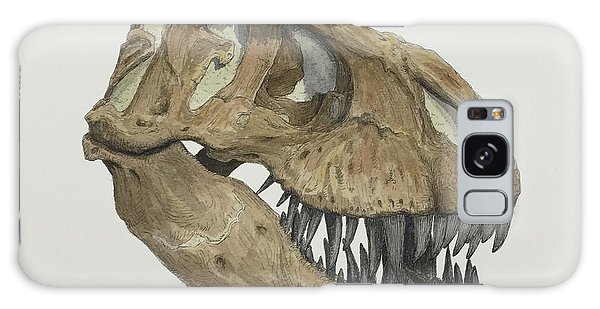 T. Rex Skull 2 Galaxy Case