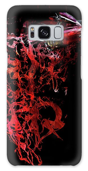 T Shirt Deconstruct Red Cadillac Galaxy Case