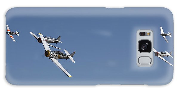 Galaxy Case featuring the photograph T6 Frenzy Over The Reno Desert by John King