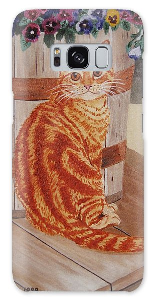 Tabby Cat Galaxy Case