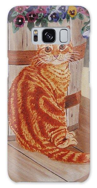 Tabby Cat Galaxy Case