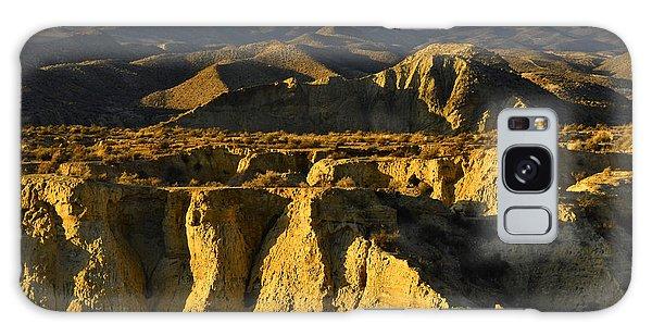 Tabernas Desert Spain Galaxy Case by Marek Stepan