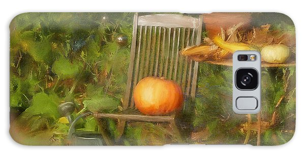 Table For One Galaxy Case by Colleen Taylor
