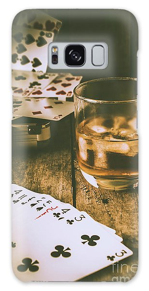 Gamble Galaxy Case - Table Games And The Wild West Saloon  by Jorgo Photography - Wall Art Gallery