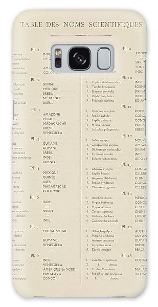 Iridescent Galaxy Case - Table Of Contents by Painter of the 19th century