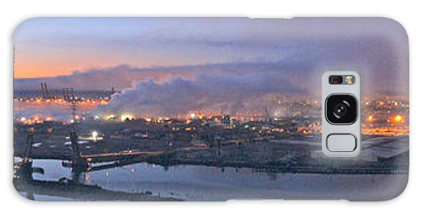 Tacoma Dawn Panorama Galaxy Case by Sean Griffin