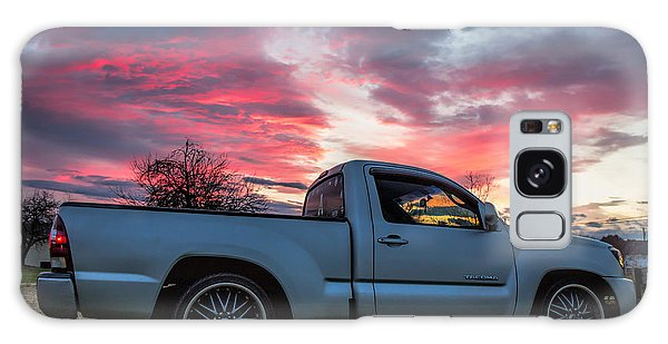 Toyota Tacoma Trd Truck Sunset Galaxy Case