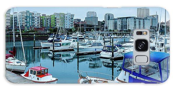 Tacoma Waterfront Marina,washington Galaxy Case