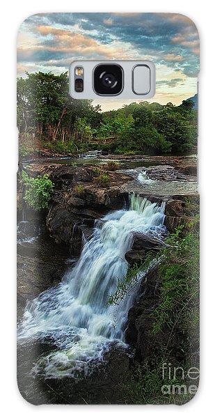 Tad Lo Waterfall, Bolaven Plateau, Champasak Province, Laos Galaxy Case