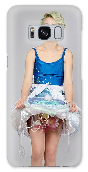 Taetyn In Jelly Fish Dress Galaxy Case