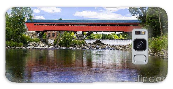 Taftsville Covered Bridge. Galaxy Case