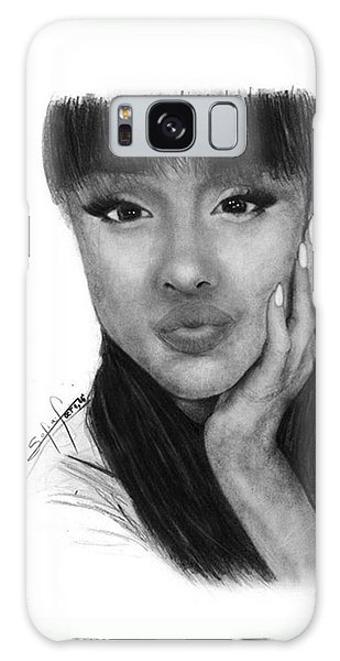 Galaxy Case - Ariana Grande Drawing By Sofia Furniel by Jul V