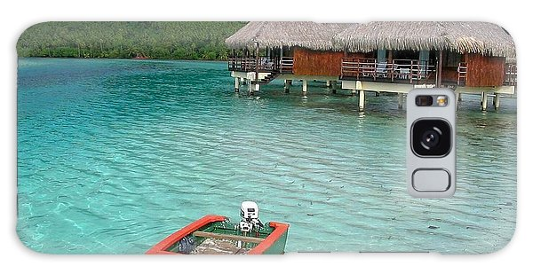 Tahitian Boat Galaxy Case