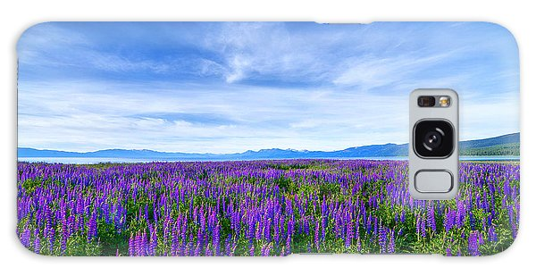 Tahoe Lupines Galaxy Case