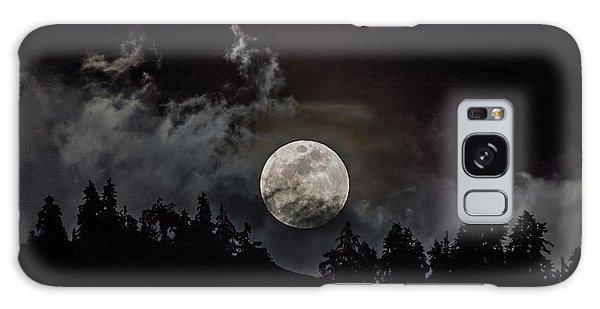 Tahoe Moon Cloud Galaxy Case