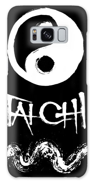 Tai Chi Black Galaxy Case