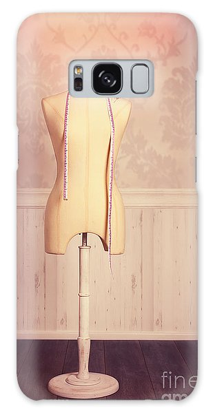 Dress Form Galaxy Case - Tailors Dummy With Tape Measure by Amanda Elwell